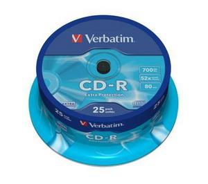 Verbatim CD-R шпиндел (25)
