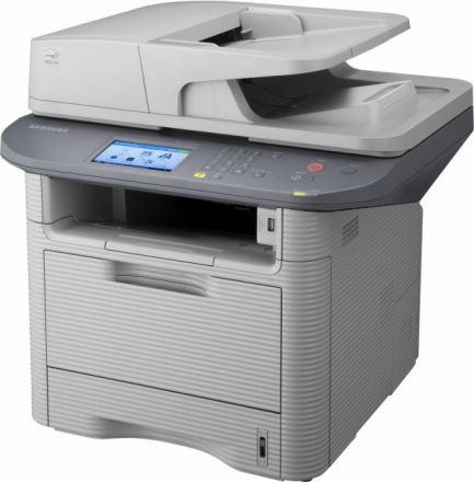 Втора употреба Samsung SCX-5637FR лазерно мултифункционално устройство с факс и мрежа
