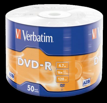 Verbatim DVD-R 4.7GB фолио (50) (43788)